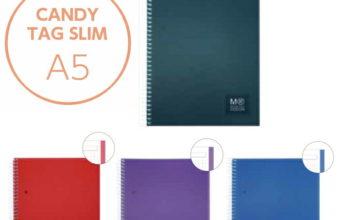 3月 新商品のお知らせ『日本オリジナル Candy Tag Slim A5 リングノート』